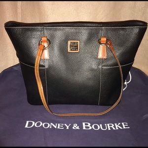 Dooney & Bourke Pebbled Leather Helena Tote